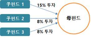 복층 투자구조에서 모펀드의 투자자수 산정방법 투자구조